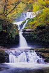 Sgwd Isaf Clun-gwyn, Wales