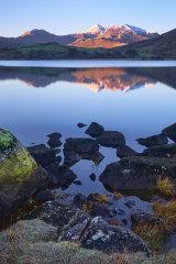 Snowdon Horseshoe & Llynnau Mymbyr, Snowdonia, North Wales.