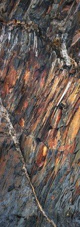 Traeth Llyfn Rock Abstract, Pembrokeshire, Wales.
