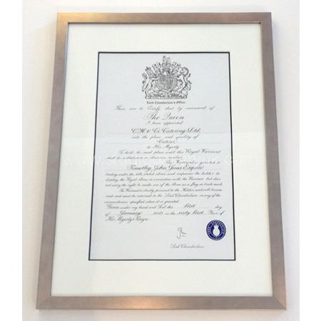 HRH Certificate