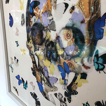 Damien Hirst / Alexander McQueen Silk 1.4m²