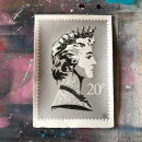 'Princess Diana Stamp' Silver SOLD
