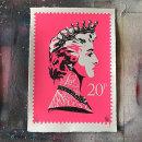 'Princess Diana Stamp' Pink SOLD