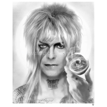 """'Goblin King' (B&W) <span style=""""color:#ff0000;"""">SOLD</span>"""