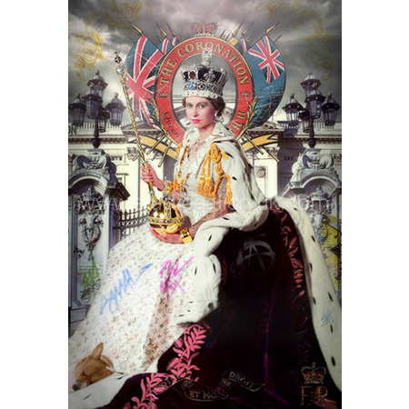 'Queen Coronation' <span style=