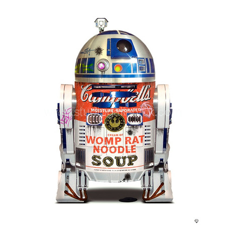 'R2-D2 - This isn't the soup you're looking for' <span style=
