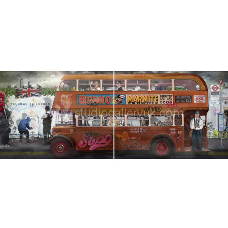 'Rule Britannia Route Master' <span style=&quot;color:#ff0000;&quot;>SOLD</span>