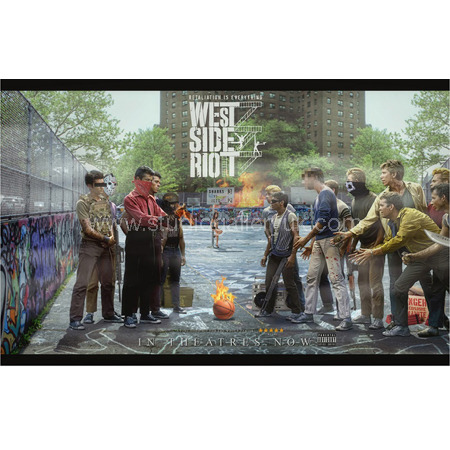 'West Side Riot' <span style=&quot;color:#ff0000;&quot;>SOLD</span>