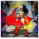 'Dance With The Devil II' (Superwoman & Wonderwoman) SOLD