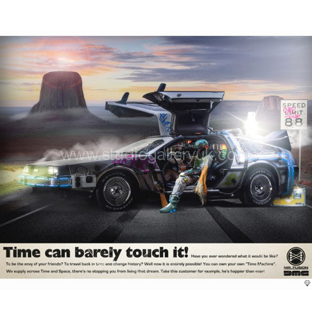 'Delorean' Back To The Future <span style=&quot;color:#9933ff;&quot;>(SECONDARY SALE - OFFERS CONDSIDERED)</span>