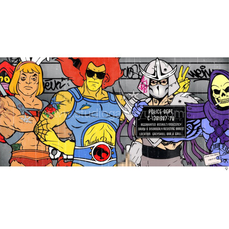 'The Morning After' Superhero Lineup <span style=&quot;color:#ff0000;&quot;>SOLD</span>