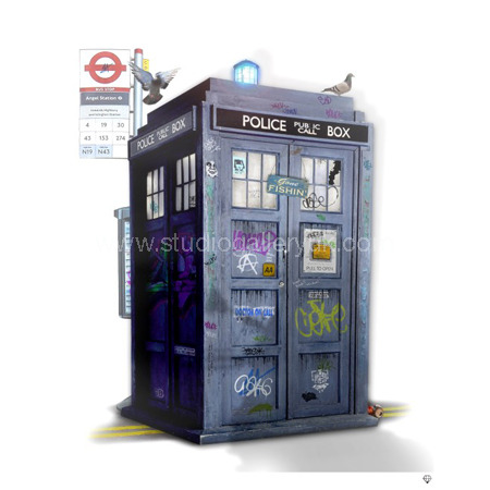 'Tardis' Dr Who <span style=&quot;color:#ff0000;&quot;>(SECONDARY SALE - OFFERS CONDSIDERED)</span>