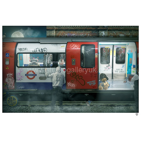 'London Tube' <span style=&quot;color:#ff0000;&quot;>SOLD</span>