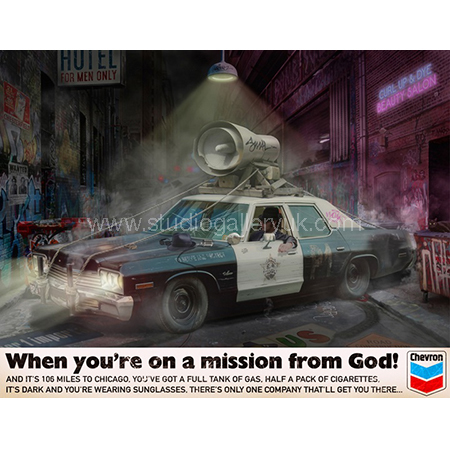 'When You're On A Mission From God' <span style=&quot;color:#ff0000;&quot;>SOLD</span>