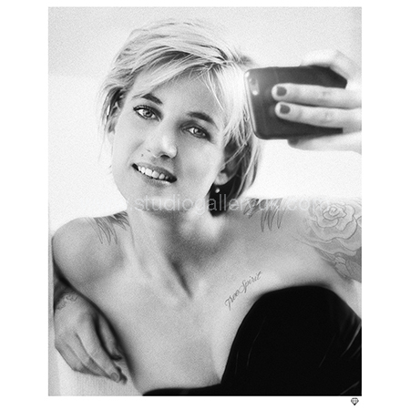 'Princess Diana Selfie' <span style=&quot;color:#9933ff;&quot;>NEW IN</span>