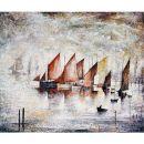 'Sailing Boats' - Signed