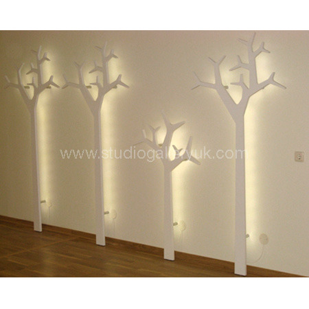 Tree Coatstand ~ Wall Mounted