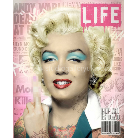 'Warhol's Marilyn' LIFE Magazine <span style=&quot;color:#ff0000;&quot;>SOLD</span>