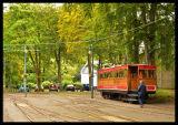 Mountain Railway Car