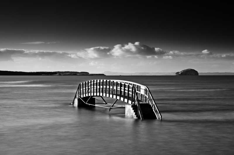 Belhaven bridge0014b&w