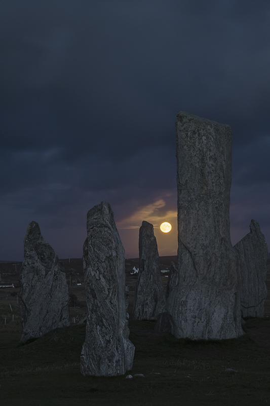 Callanish I moonrise 500116