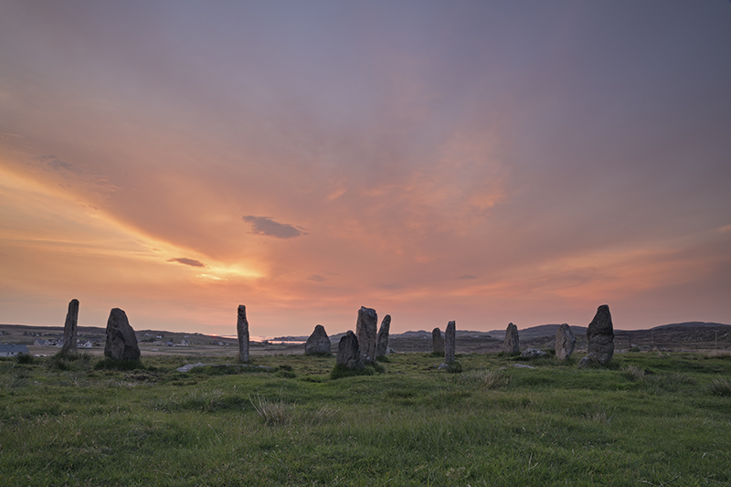 Callanish III sunset 500024