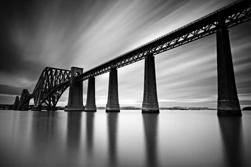 Forth bridge0011b&w