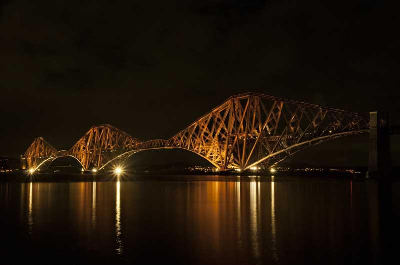 Forth bridge night0029