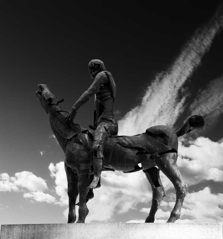 Horseman of the Apocalypse0186b&w