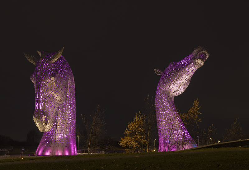 Kelpies night 500101