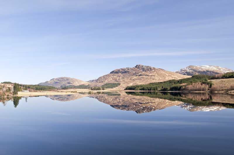Loch  Laggan reflections0010