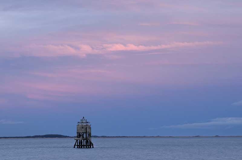 Nightfall on the Pile lighthouse021