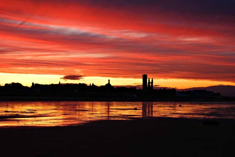 St Andrews sunset0001