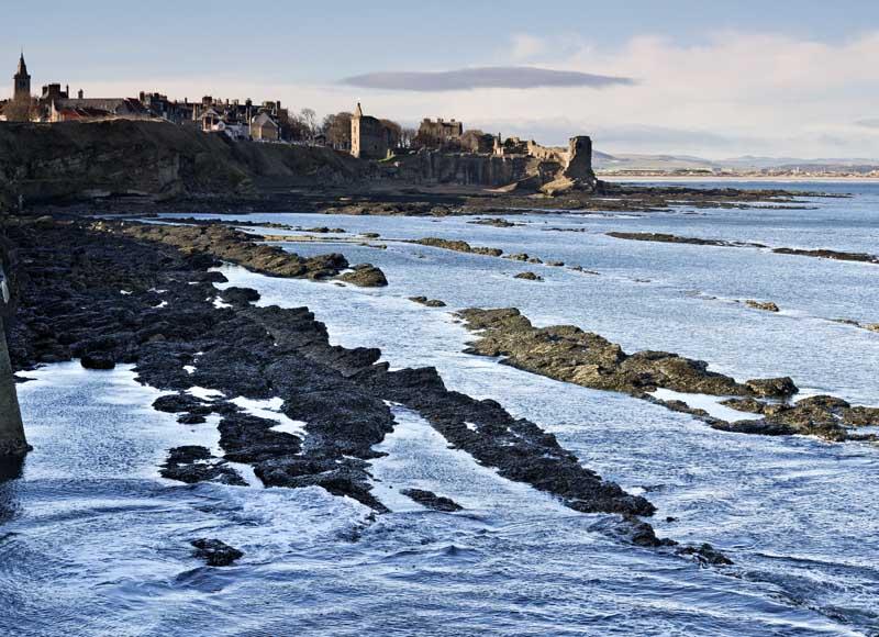 St Andrews castle  evening0007