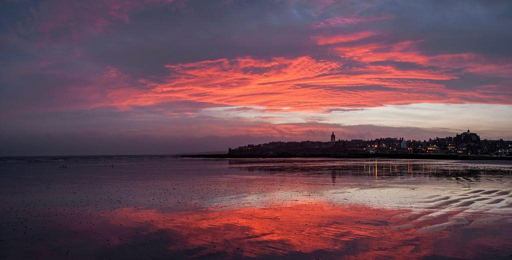 St Andrews West sands dawn0021-22