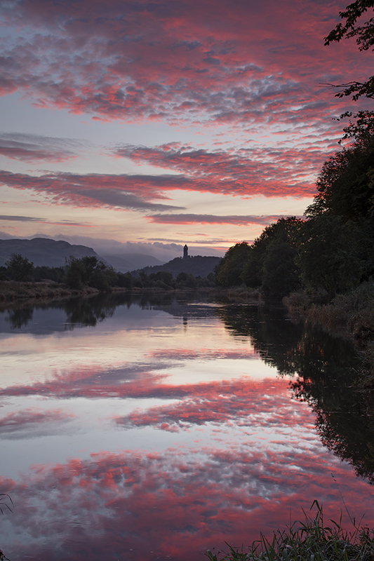 Wallace monument sunrise500023