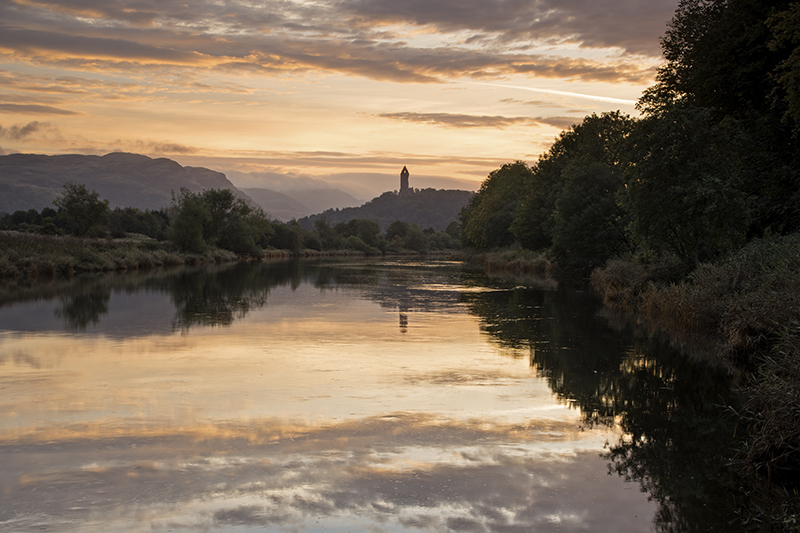 Wallace monument sunrise500037