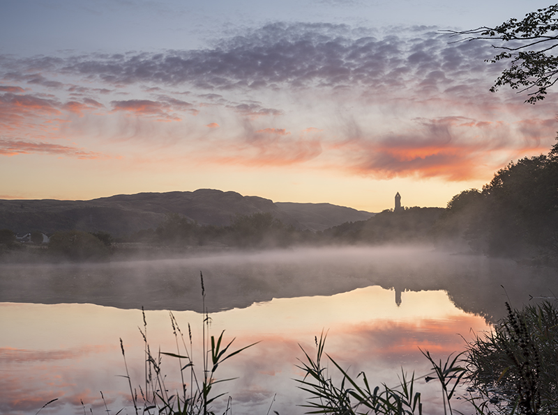Wallace monument misty dawn500055-58