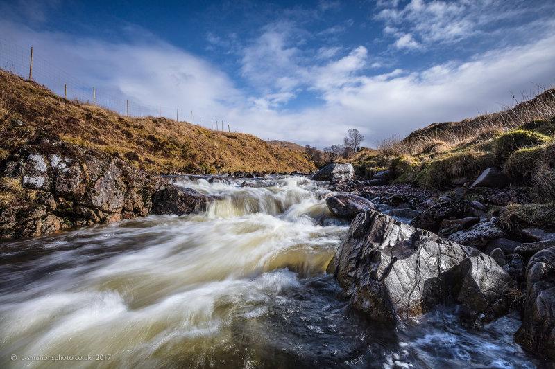Highland Stream Textures - Ardtornish