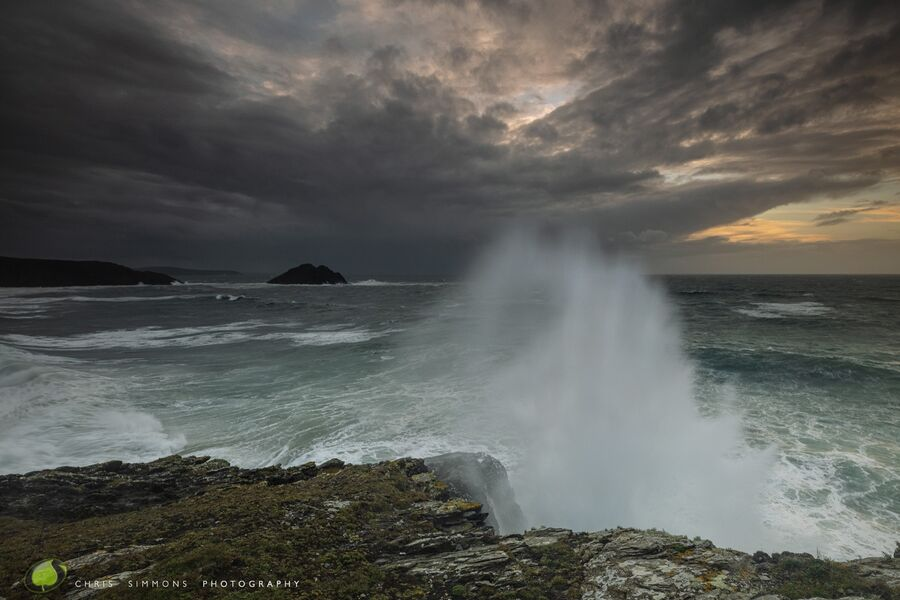 Atlantic Storm Across Holywell