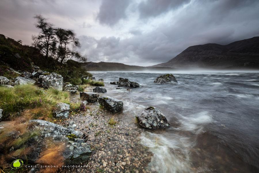 Autumn Loch Squall - rev