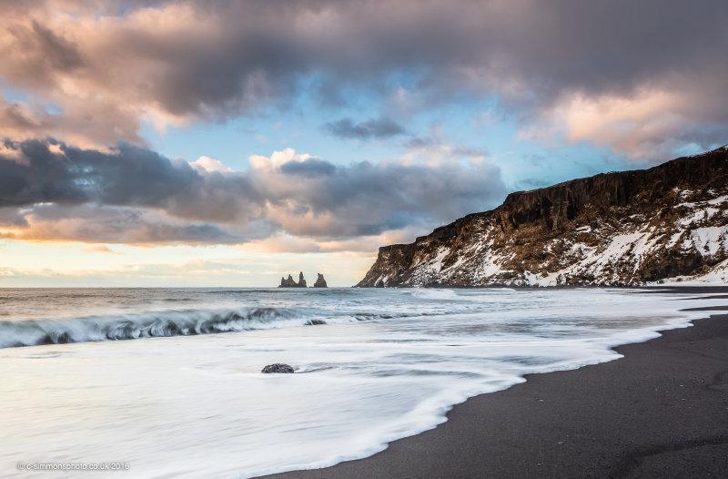 Black Sand Beach Vista
