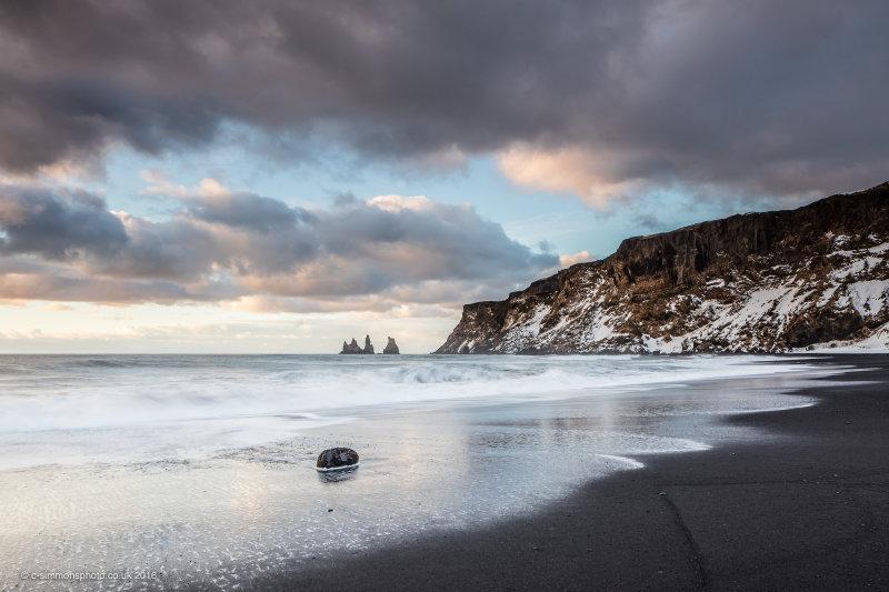 Black Sand Reflections
