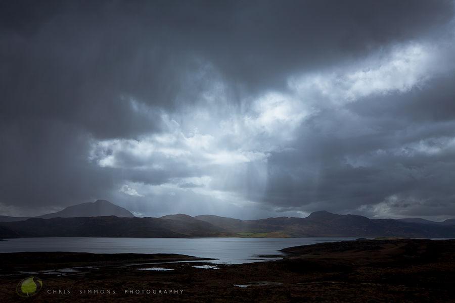 Brooding Sky Over Loch Eribol