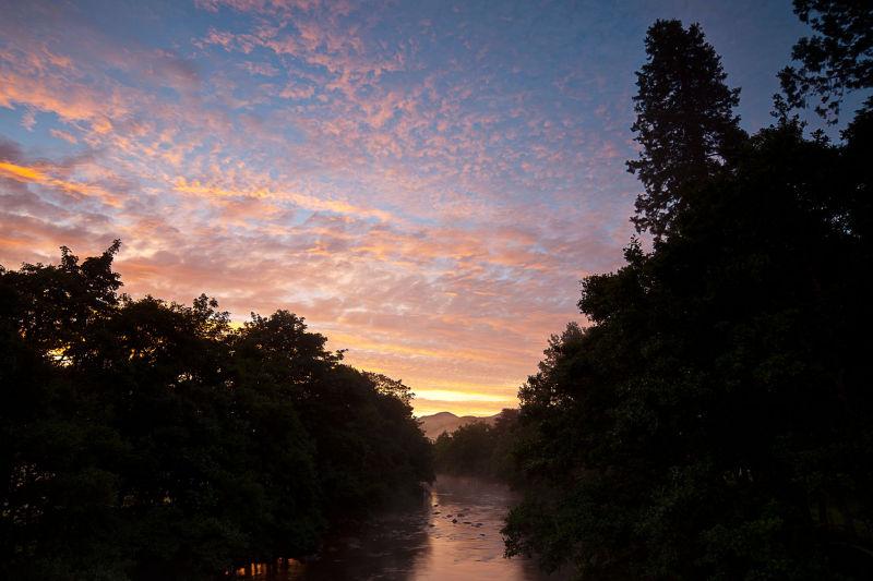 River Meig Dawning