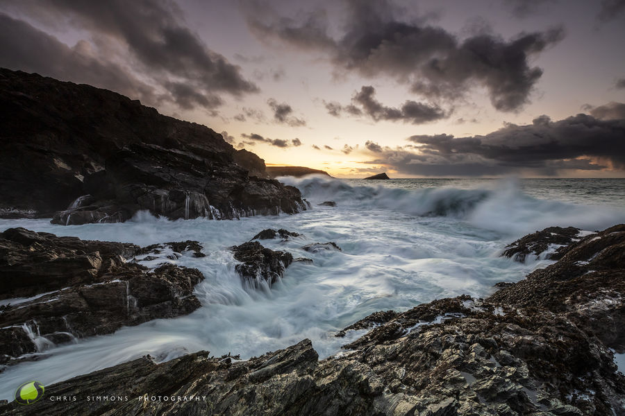 Cove Waves II - West Pentire