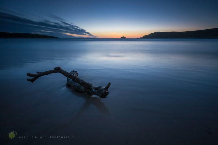 Crantock Driftwood Blue - C