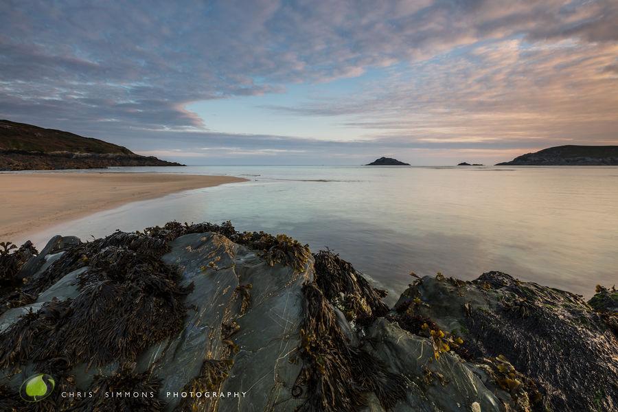 Crantock Rocks & Dappled Dawning