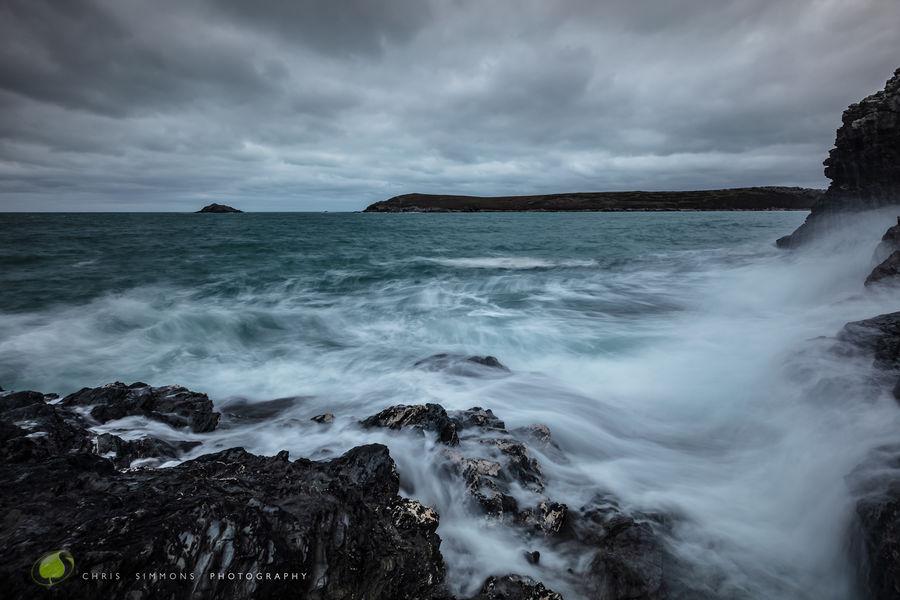 Crantock Step - High Tide - rev
