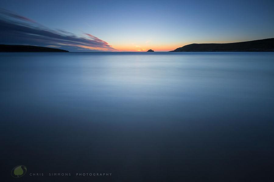 Crantock Summer Solstice Sundown - rev